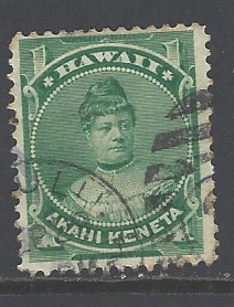 Hawaii Sc # 42 used (JE), HipStamp, США