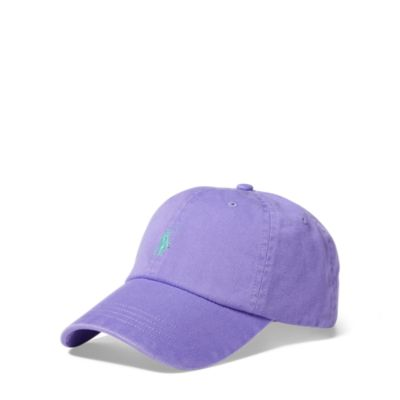Cotton Chino Baseball Cap, RalphLauren, США